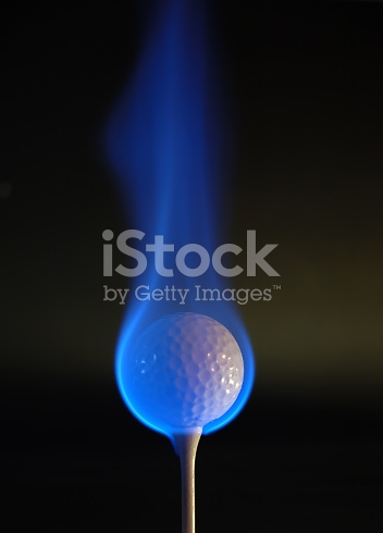 Flaming Golf Ball Images.
