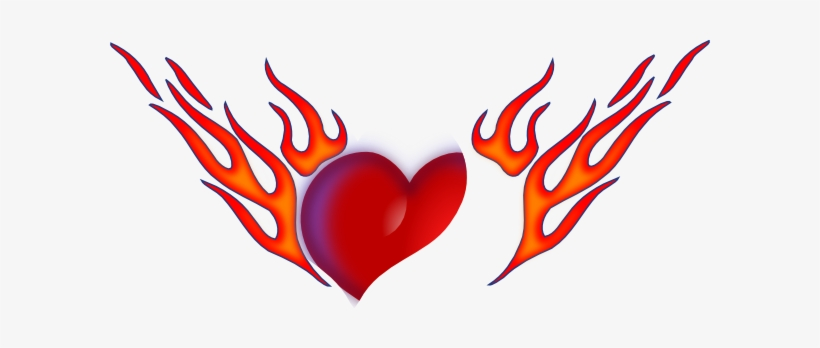 How To Set Use Flaming Heart Icon Png.