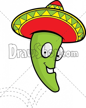 Similiar Jalapeno With Sombrero Keywords.