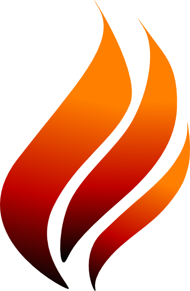 Hand Flaming Torch Vector And Illustrations Clipart.
