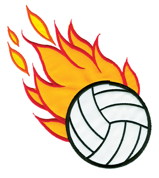 Free Flaming Volleyball Cliparts, Download Free Clip Art.