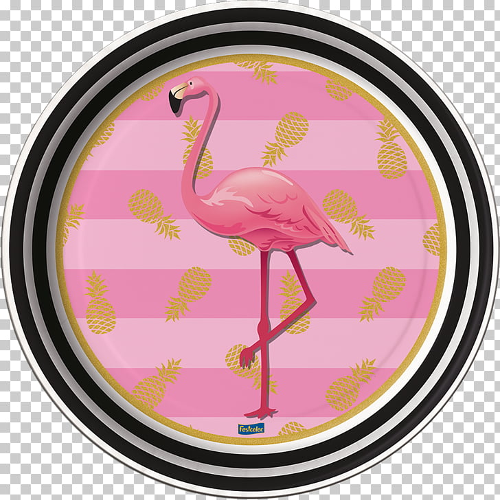Flamingos Party Birthday Disposable Paper, flamingos PNG.