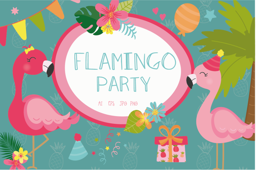 Birthday Party Background clipart.