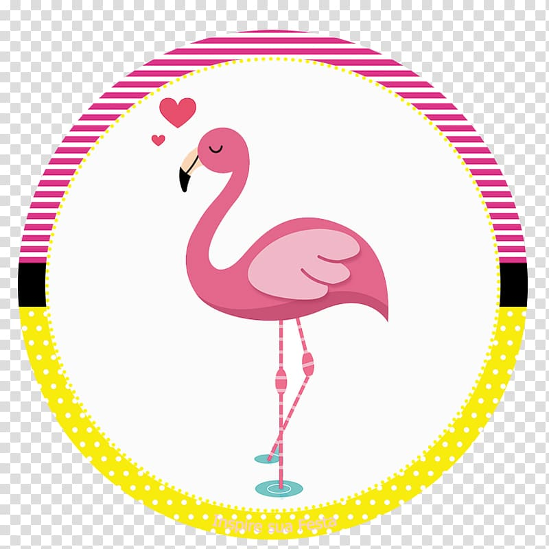 Pink flamingo , Flamingos Party favor Birthday Convite.