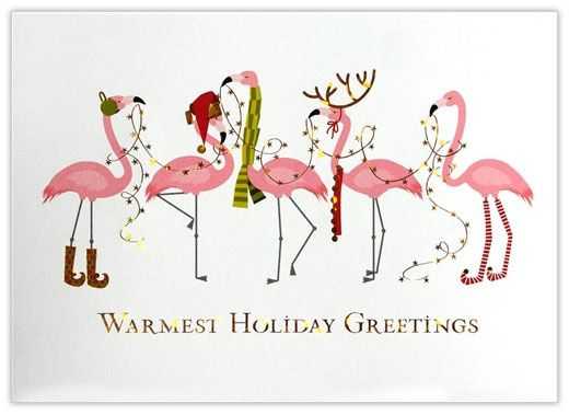 Image result for flamingo with santa hat clipart.