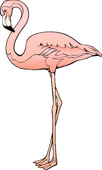 Free to Use & Public Domain Flamingo Clip Art.