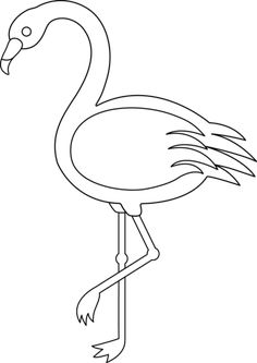 7 Best Flamingo clip art images in 2017.