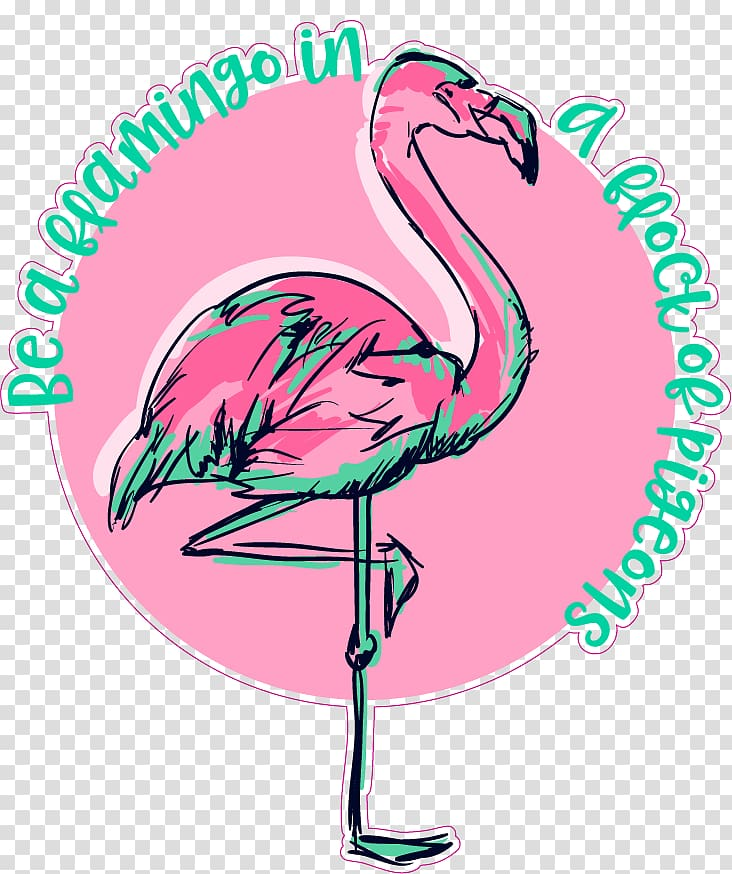 Flamingos Illustration Drawing graphics, Silhouette.