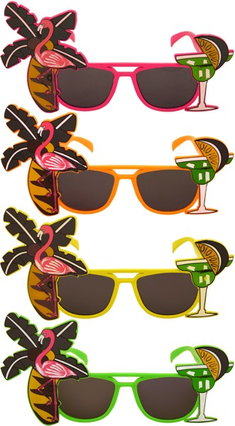 Flamingo Neon Glasses Wow Tastic.