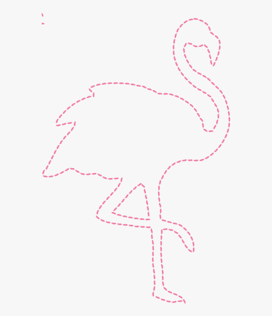 Flamingo Outline Png.
