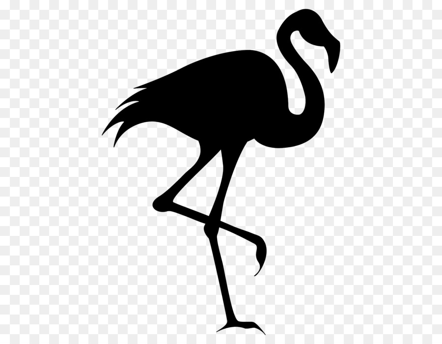 Flamingo Silhouette png download.