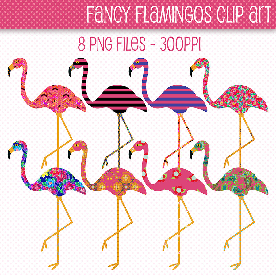 lawn flamingo outline - photo #45