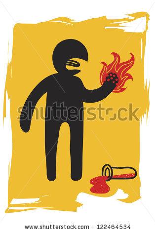 Flammable Liquid Sign Stock Photos, Royalty.