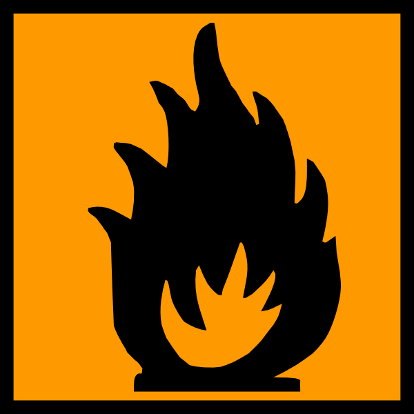 Extremely Flammable Clip Art at Clker.com.