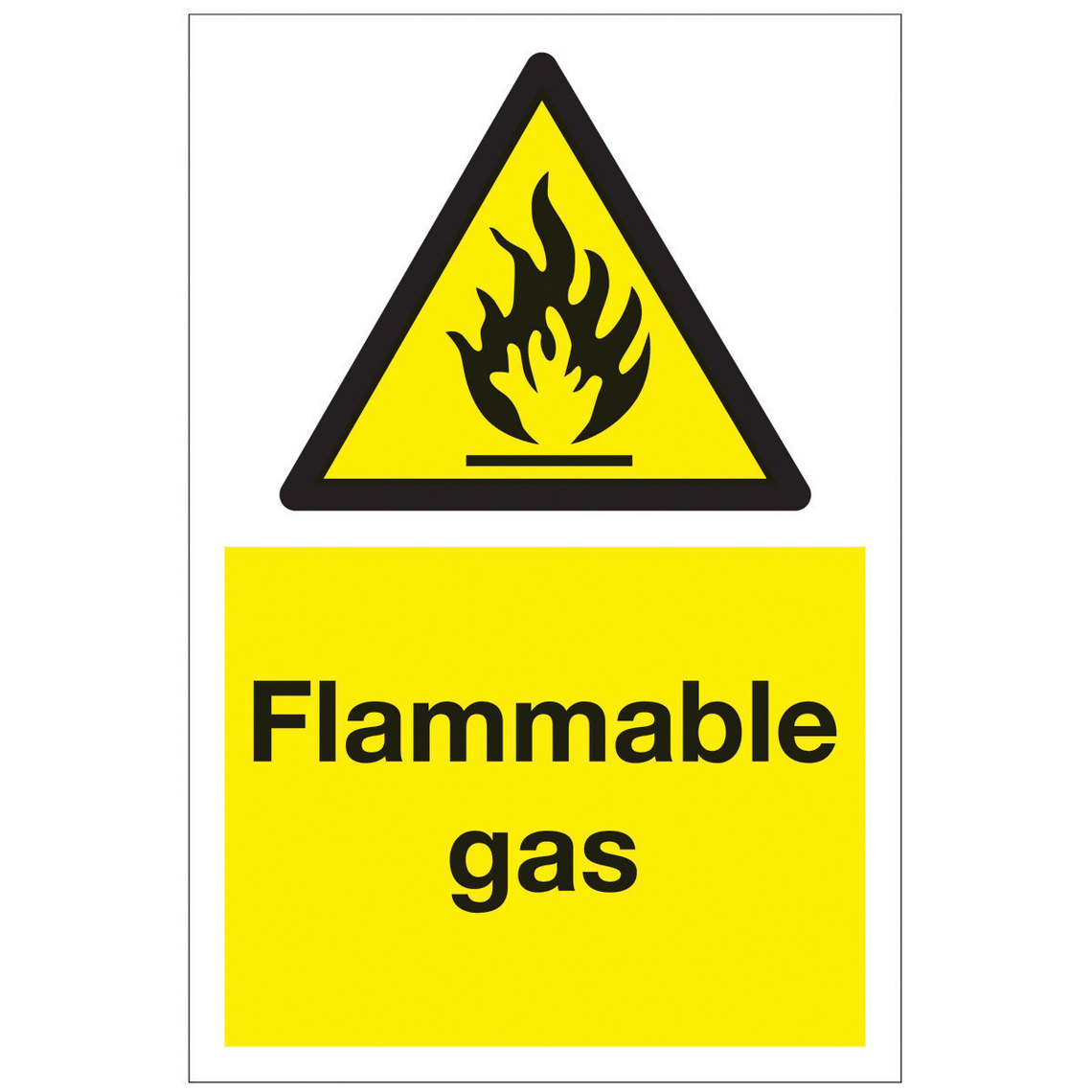 Safety Symbols For Flammable.