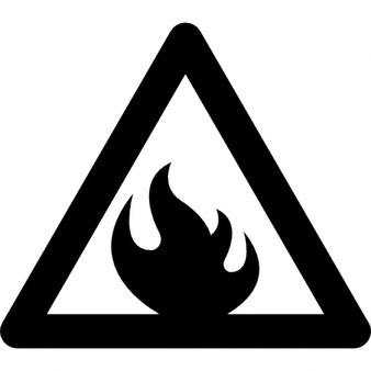 Flammable Icon.