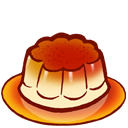 Flan icon 128x128px (ico, png, icns).