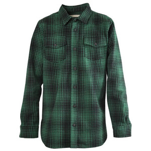 Flannel shirt outline black and white clipart.