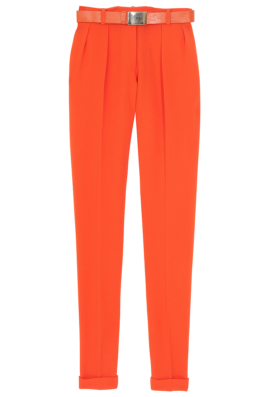Preen by thornton bregazzi Clip Belt Pants in Orange.