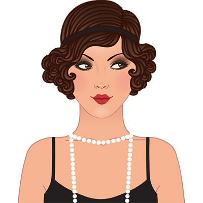 Free Vintage Flapper Cliparts, Download Free Clip Art, Free.