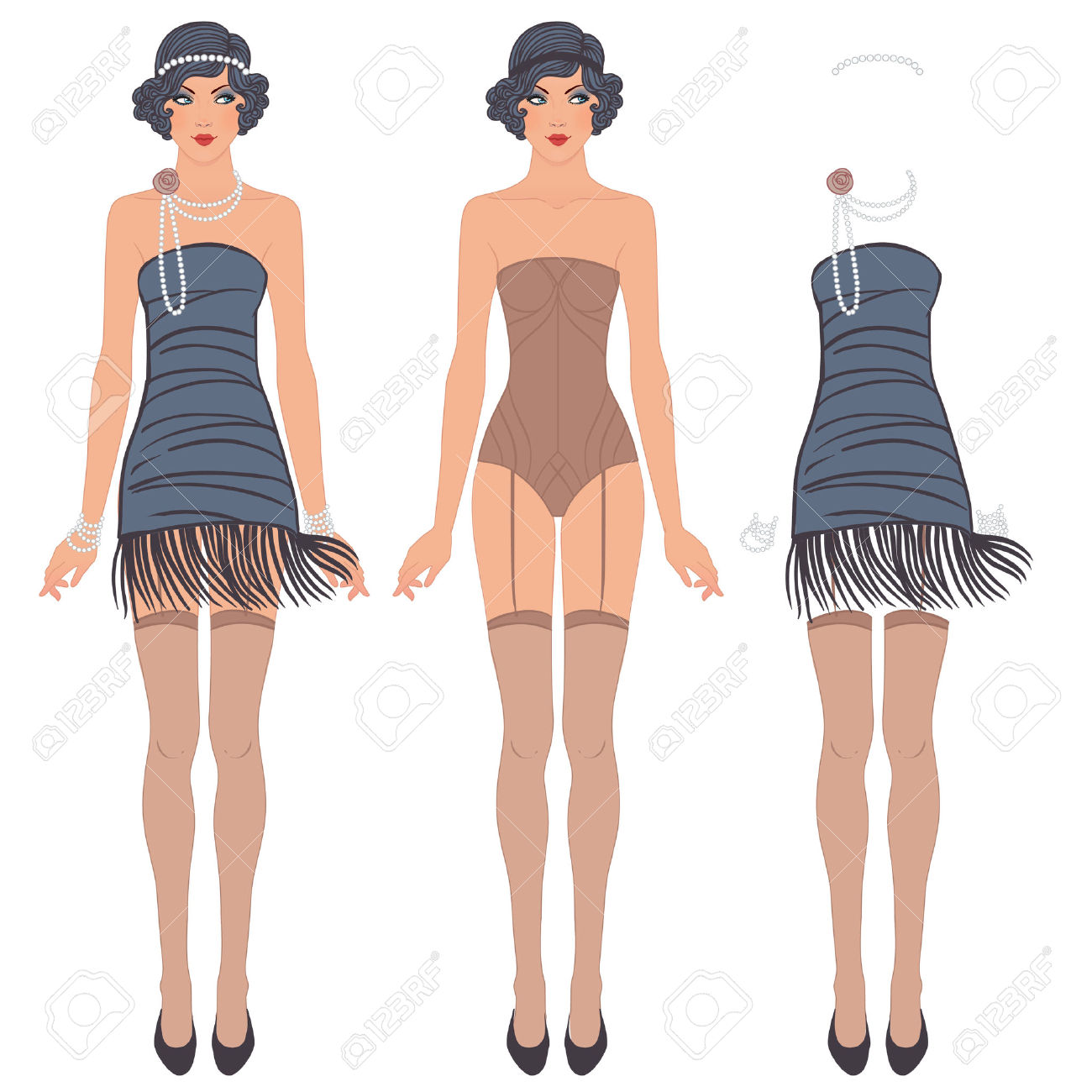 892 Flapper Stock Illustrations, Cliparts And Royalty Free Flapper.