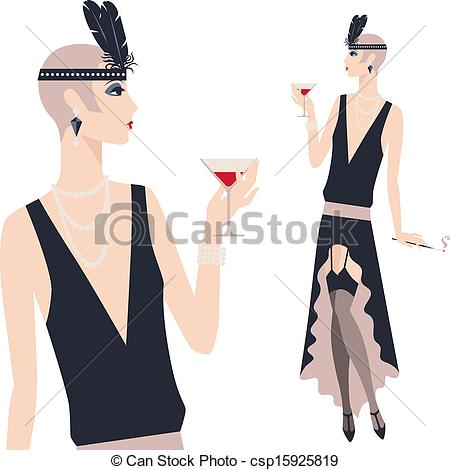 Flapper Illustrations and Clip Art. 513 Flapper royalty free.
