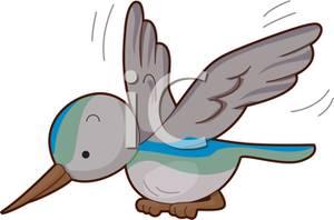 Cute Hummingbird Clipart.