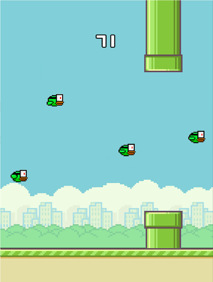Download Flappy Bird Pipes Png.