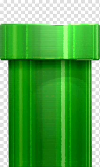 Green pipe illustration, New Super Mario Bros. 2 Pipe Flappy Bird.