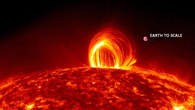 Sun Unleashes Monster Solar Flare, Biggest of 2014.