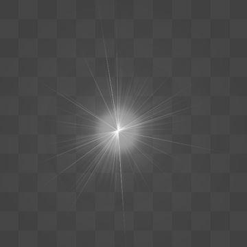 2019 的 White Flash Light Lens Flare Effect, Abstract, Light.
