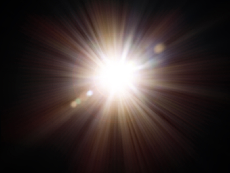 Sun Flare Texture Overlay Free Download.