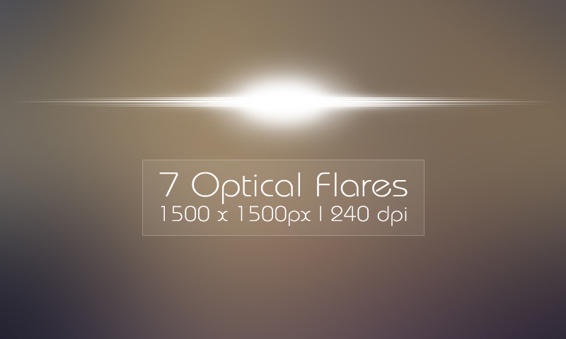 Free Download: 7 Optical Flares.