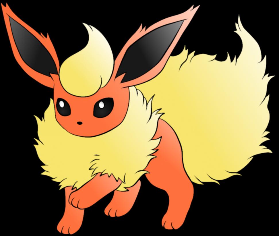 Flareon pokemon png #24004.