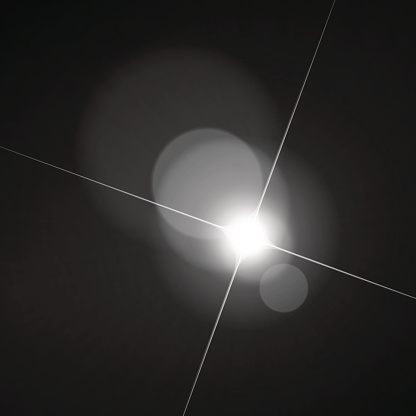 Lens flare clipart.
