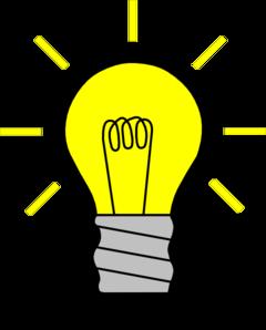 Lightbulb Clipart.