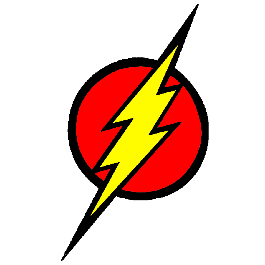 Flash clipart logo.