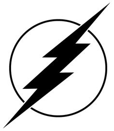 Free The Flash Black And White, Download Free Clip Art, Free.