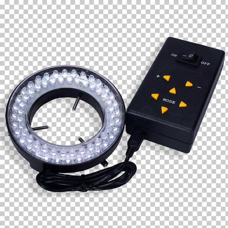 Luz de intensidad del flash del anillo del diodo emisor de.
