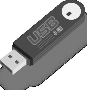Usb Flash Drive clip art Free Vector / 4Vector.