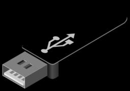 Flash drive clip art.