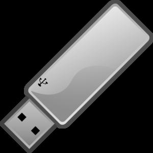 Usb flash drive clipart.
