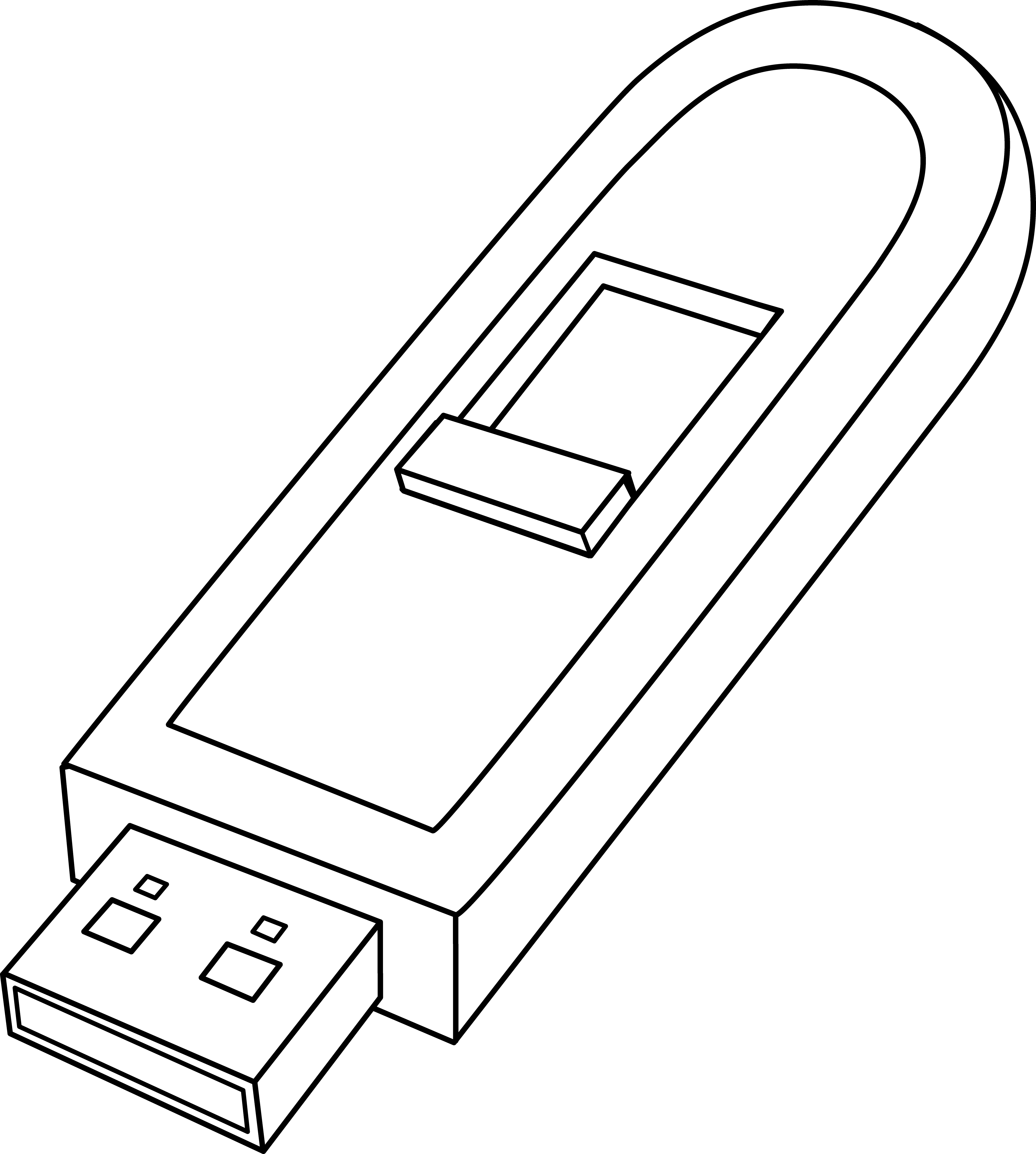 Flash driver clipart - Clipground