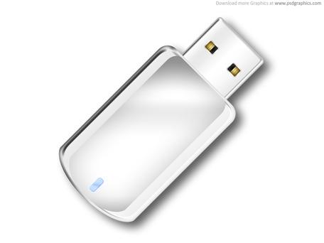 USB flash drive icon (PSD), Cliparts.