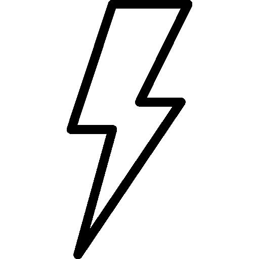 Flash symbol Icons.
