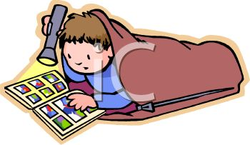 Camping Sleepover Clipart.