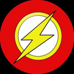 Flash Logo Icon by mahesh69a on DeviantArt.