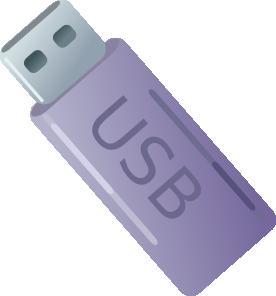 Usb Thumbdrive Flash Memory Storage clip art Free Vector / 4Vector.