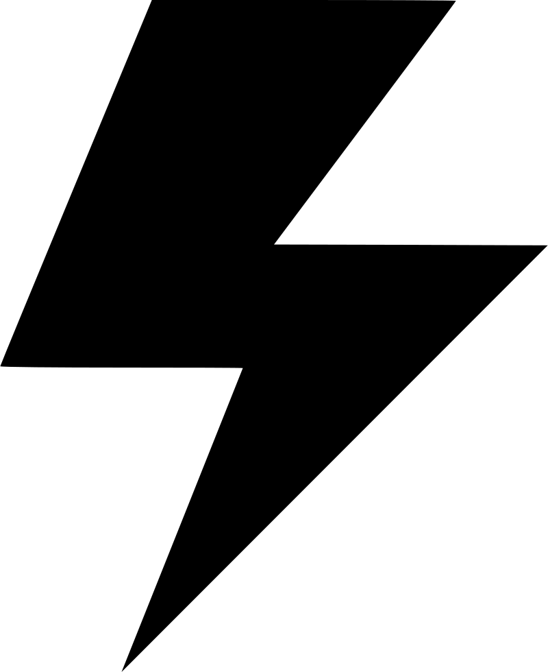 Flash Electricity Power Light Idea Svg Png Icon Free Download.
