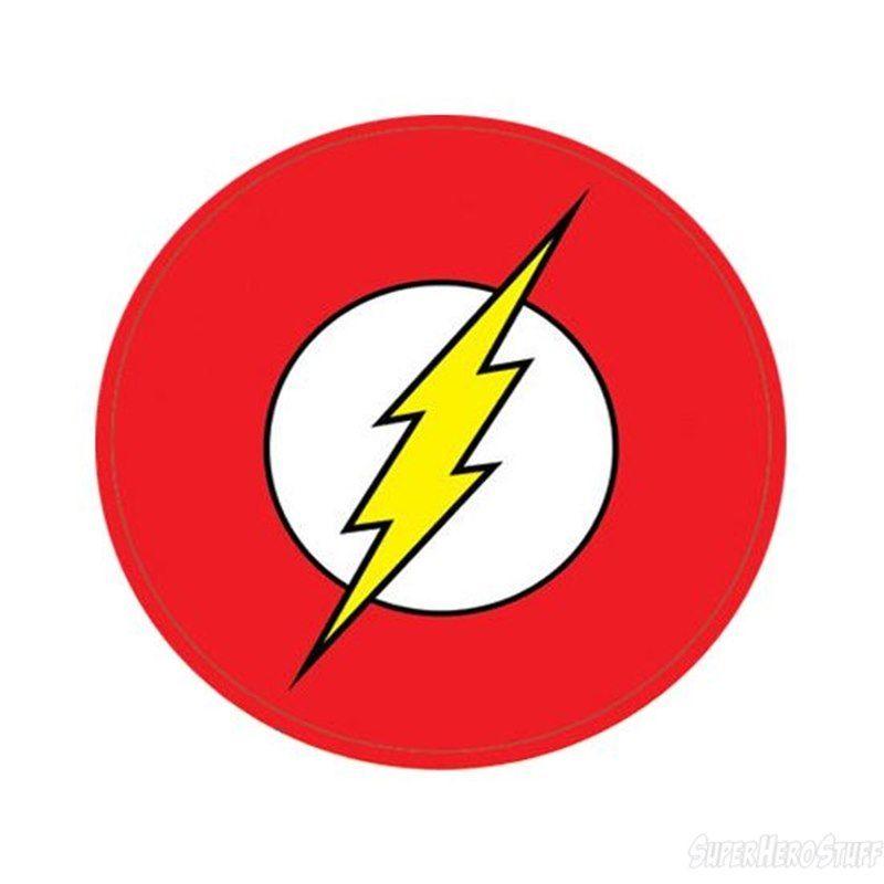flash superhero logo.